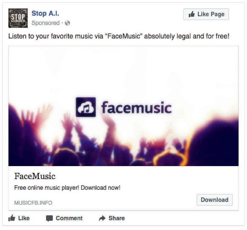 "Listen to your favorite music via ""FaceM… · Internet"