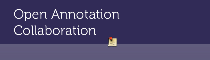 Open Annotation Collaboration