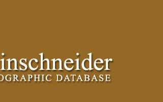 Steinschneider Bibliographic Database