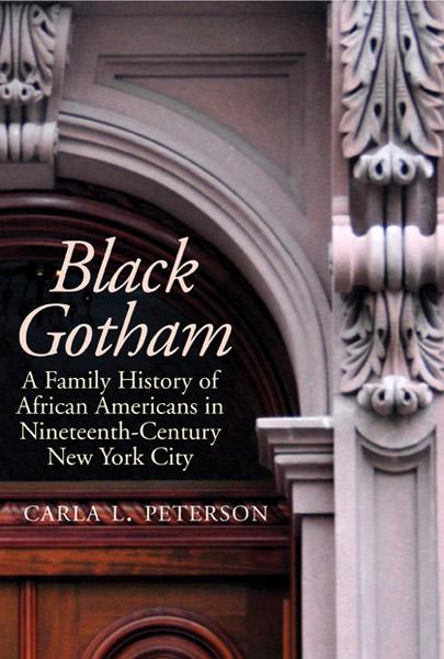 Black Gotham book cover