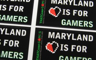 THAT Camp Games Stickers