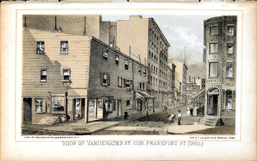 View of Vandewater Street