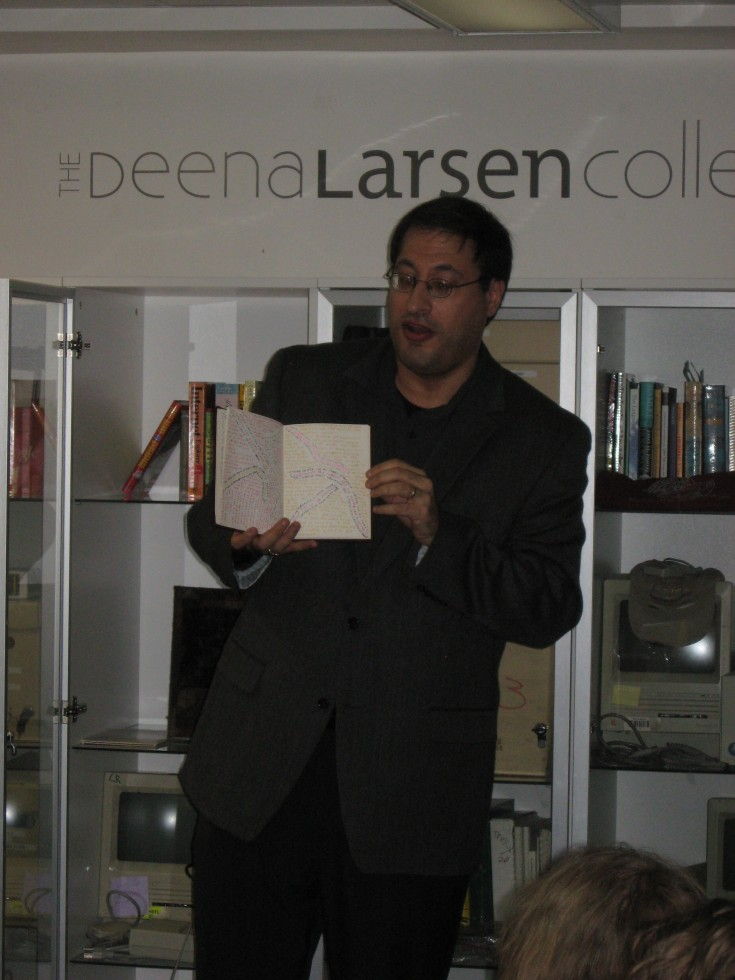 Matthew Kirschenbaum Shares Deena Larsen Collection