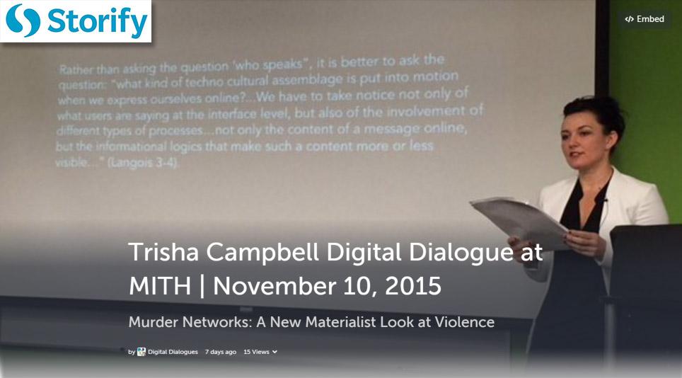 Trisha Campbell Storify