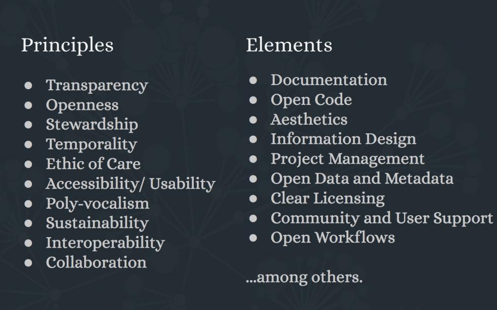 Principles & Elements