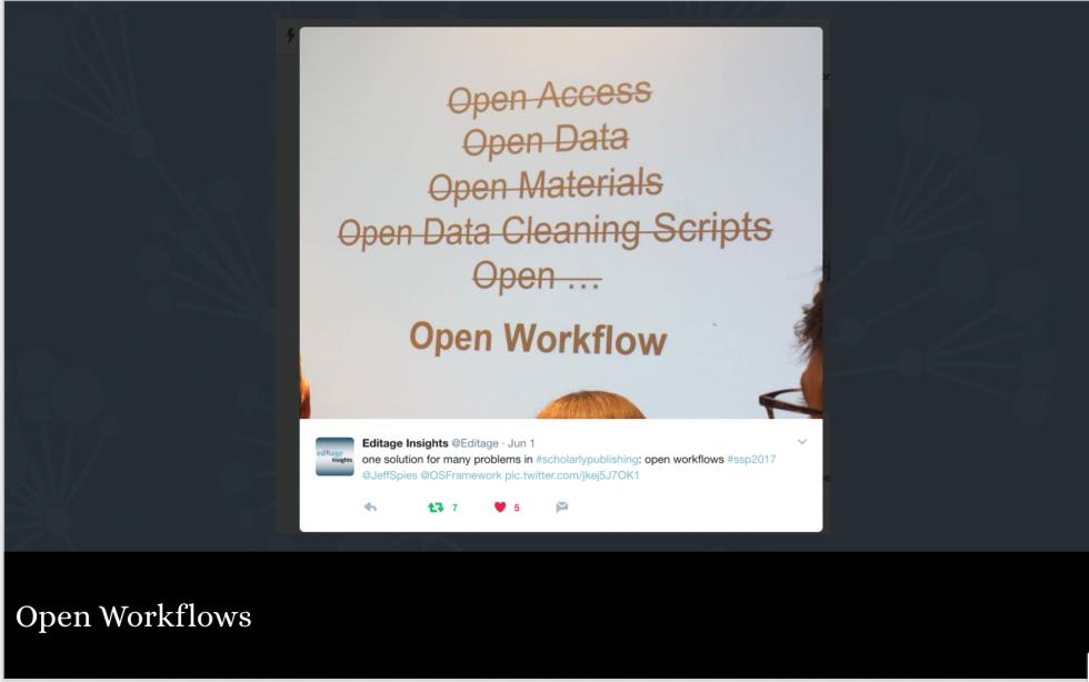Open Workflows